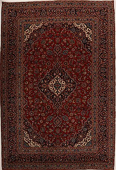 Persian Ardakan Red Rectangle 10x14 ft Wool Carpet 14267