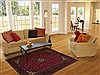 Kashan Red Hand Knotted 47 X 75  Area Rug 251-14329 Thumb 5