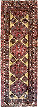 "Sarab Brown Runner Hand Knotted 3'10"" X 10'9""  Area Rug 100-14753"