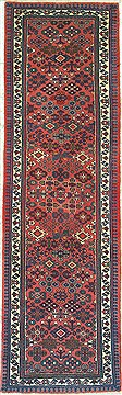 Persian Maymeh Beige Runner 6 ft and Smaller Wool Carpet 14768