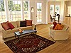 Heriz Red Hand Knotted 52 X 68  Area Rug 100-14944 Thumb 5