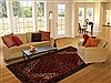 Heriz Red Hand Knotted 73 X 99  Area Rug 100-14964 Thumb 4