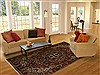 Bakhtiar Red Hand Knotted 611 X 911  Area Rug 100-14967 Thumb 4