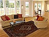 Bakhtiar Red Hand Knotted 72 X 100  Area Rug 100-14971 Thumb 4