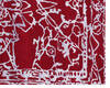 Modern-Contemporary Red Hand Knotted 80 X 100  Area Rug 902-140044 Thumb 1
