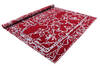 Modern-Contemporary Red Hand Knotted 80 X 100  Area Rug 902-140044 Thumb 2