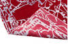 Modern-Contemporary Red Hand Knotted 80 X 100  Area Rug 902-140044 Thumb 3