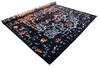 Modern-Contemporary Black Hand Knotted 90 X 120  Area Rug 902-140050 Thumb 2