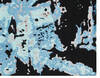 Modern-Contemporary Blue Hand Knotted 80 X 100  Area Rug 902-140052 Thumb 1