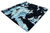 Modern-Contemporary Blue Hand Knotted 80 X 100  Area Rug 902-140052 Thumb 2