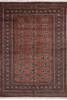 Bokhara Brown Hand Knotted 59 X 80  Area Rug 700-140406 Thumb 0