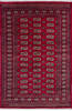 Bokhara Red Hand Knotted 41 X 62  Area Rug 700-140415 Thumb 0