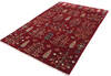 Chobi Red Hand Knotted 40 X 60  Area Rug 700-140457 Thumb 1