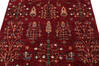 Chobi Red Hand Knotted 40 X 60  Area Rug 700-140457 Thumb 3