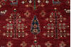 Chobi Red Hand Knotted 40 X 60  Area Rug 700-140457 Thumb 4
