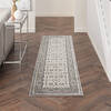 Nourison Grand Villa Grey Runner 23 X 73 Area Rug  805-141374 Thumb 3