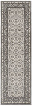 "Nourison Grand Villa Grey Runner 2'3"" X 7'3"" Area Rug  805-141374"