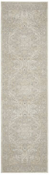 Nourison Malta Beige Runner 6 to 9 ft Polypropylene Carpet 141698