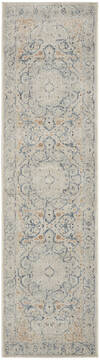 Nourison Malta Beige Runner 6 to 9 ft Polypropylene Carpet 141703