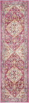 "Nourison Passion Beige Runner 2'2"" X 7'6"" Area Rug  805-142079"