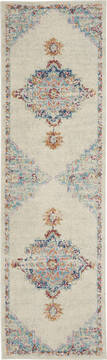 "Nourison Passion Grey Runner 1'10"" X 6'0"" Area Rug  805-142090"