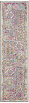 "Nourison Passion Grey Runner 1'10"" X 6'0"" Area Rug  805-142218"