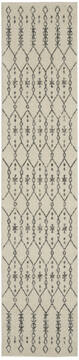 "Nourison Passion Beige Runner 2'2"" X 10'0"" Area Rug  805-142253"