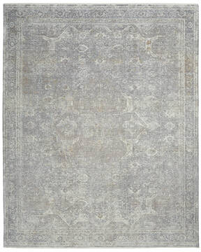 Nourison Starry Nights Grey Rectangle 10x12 ft Lucxelle Carpet 142695