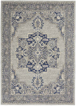 "Nourison Tranquil Grey 4'0"" X 6'0"" Area Rug  805-142884"