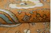 Chobi Yellow Hand Knotted 81 X 102  Area Rug 700-143428 Thumb 7