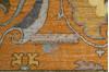 Chobi Yellow Hand Knotted 81 X 102  Area Rug 700-143428 Thumb 8