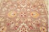 Chobi Brown Square Hand Knotted 67 X 69  Area Rug 700-143449 Thumb 4