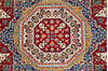 Chobi Red Hand Knotted 411 X 67  Area Rug 700-143486 Thumb 4