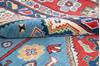 Kazak Blue Hand Knotted 55 X 710  Area Rug 700-143533 Thumb 5