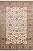 Jaipur White Hand Knotted 60 X 91  Area Rug 905-143544 Thumb 0