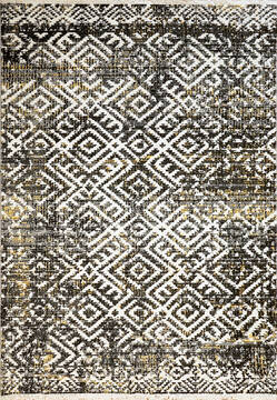"Dynamic AVERY Grey 3'11"" X 5'7"" Area Rug AY466547900 801-143739"