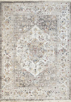 "Dynamic MOOD Grey 5'3"" X 7'7"" Area Rug MZ698454900 801-144126"