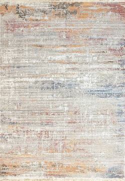 "Dynamic MOOD White 5'3"" X 7'7"" Area Rug MZ698456130 801-144127"