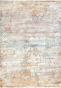 "Dynamic MOOD White 6'7"" X 9'6"" Area Rug MZ7108450130 801-144128"