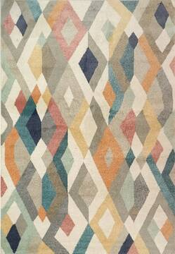 "Dynamic LYDIA Multicolor Runner 2'2"" X 7'7"" Area Rug LA287896199 801-144801"