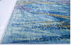 Modern Blue Hand Knotted 82 X 911  Area Rug 700-144873 Thumb 5