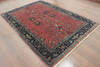 Sarouk Red Hand Knotted 510 X 88  Area Rug 902-144899 Thumb 1