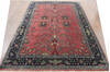 Sarouk Red Hand Knotted 510 X 88  Area Rug 902-144899 Thumb 3