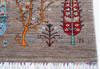 Chobi Grey Hand Knotted 42 X 510  Area Rug 700-144917 Thumb 5