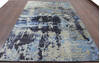 Modern-Contemporary Multicolor Hand Knotted 66 X 99  Area Rug 902-144925 Thumb 3