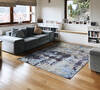 Modern-Contemporary Multicolor Hand Knotted 66 X 99  Area Rug 902-144925 Thumb 4