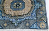 Chobi Blue Runner Hand Knotted 28 X 64  Area Rug 700-144980 Thumb 3
