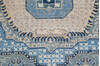 Chobi Blue Runner Hand Knotted 28 X 64  Area Rug 700-144980 Thumb 5