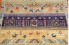 Chobi Multicolor Hand Knotted 40 X 60  Area Rug 700-144994 Thumb 4