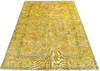 Overdyed Yellow Hand Knotted 64 X 94  Area Rug 700-145005 Thumb 1